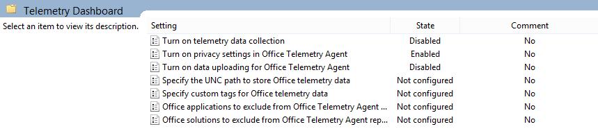 telemetry microsoft office
